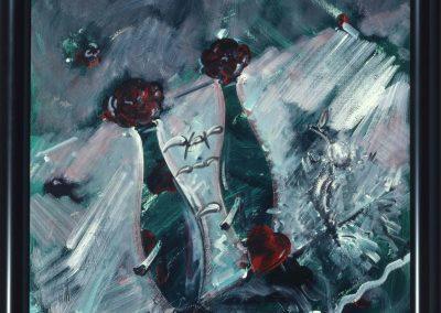 Acryl_LW, 116 x 89 cm, 33-Verliebtes-Grün-94