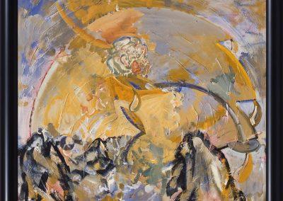 Acryl_LW, 105 x 105 cm, Rosensport 2005