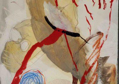 Rote Mander - Gießer 66 x 44 cm