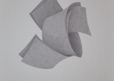 o.T., 2016, Tusche auf Papier