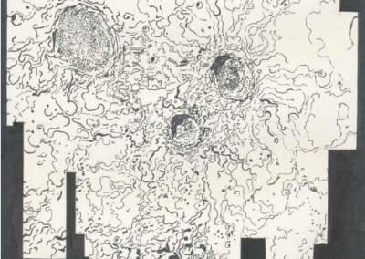 """aus der Serie """"passion could bring character enough"""", 2019, 30 x 21 cm Bleistift und Tusche auf Papier"""