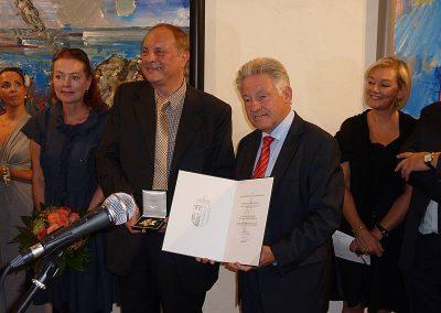 Christian Ludwig Attersee - Ausstellung 2012 - Pressefoto 1