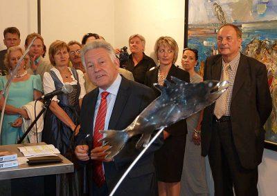 Christian Ludwig Attersee - Ausstellung 2012 - Pressefoto 4