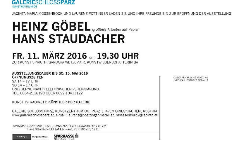 Hans Staudacher und Heinz Goebel