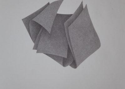 """Chen Xi, """"Zeichnung ink auf Papier"""", 178 x 122cm, 2011"""