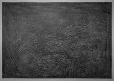"""aus der Serie """"in a dream of suns and moons"""", Ölfarbe auf Papier / ungerahmt 2018 / 2019 84 x 60 cm - (auf der Rückseite des Blattes signiert und datiert)"""