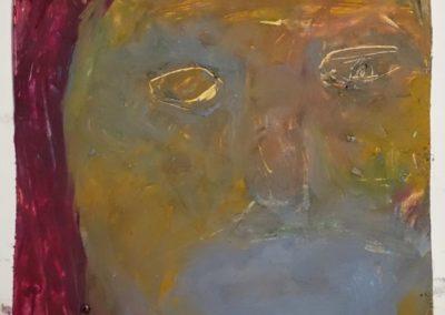 Lena Göbel, Öl auf Papier, 24x20cm, 2019