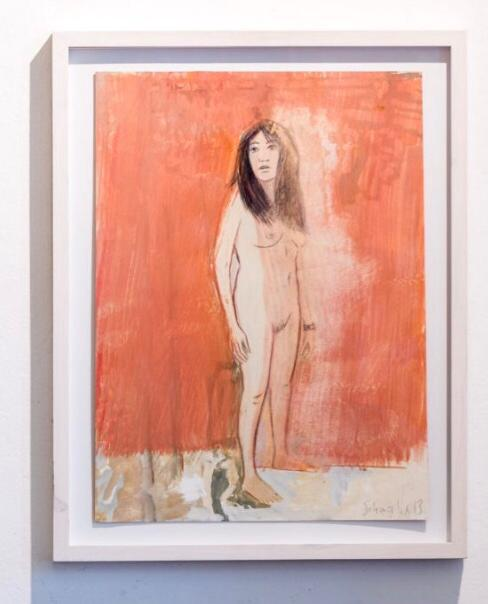 Casa Tesoro 106, 2013 Gouache auf Karton, 50 x 38 cm, inkl. Rahmen € 5.000,